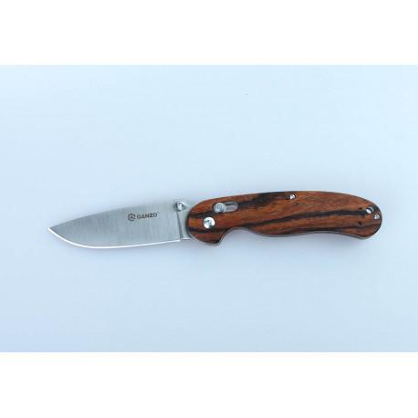 Нож Ganzo G727M светлое дерево (G727M-WD1)